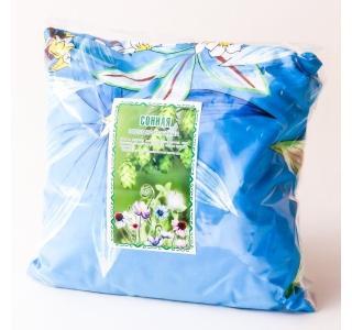 Подушка Сонная травяная 25 см на 25 см Травы горного крыма купить