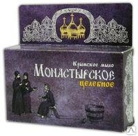 Крымское мыло Монастырское целебное 80г Формула здоровья купить