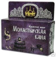 Крымское мыло Монастырская баня 80г Формула здоровья купить