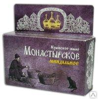Крымское мыло Монастырское Миндальное 80г. Формула здоровья купить