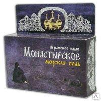 Крымское мыло Монастырское Морская соль 80г. Формула здоровья купить