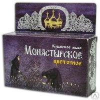 Крымское мыло Монастырское Цветочное 80г. Формула здоровья купить