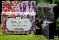 Крымское мыло 1+ 1 Нежный скраб + Косметическое 80г.