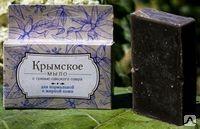 Крымское мыло на основе грязи Сакского озера для жирной кожи 80г. Формула здоровья купить