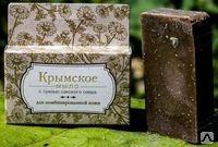 Крымское мыло на основе грязи Сакского озера Для комбинированной кожи 80г.