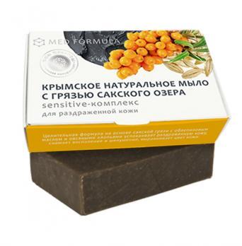 Мыло на основе лечебной грязи сакского озера MED formula Sensitive-комплекс Дом природы купить