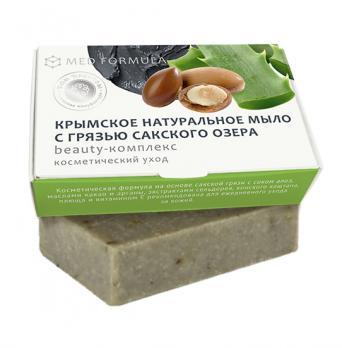 Мыло на основе лечебной грязи сакского озера MED formula beauty-комплекс Дом природы купить