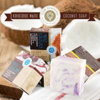 Мыло на кокосовых сливках